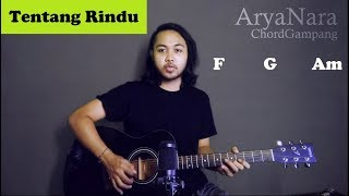 Chord Gampang (Tentang Rindu - Virzha) by Arya Nara (Tutorial Gitar) Untuk Pemula