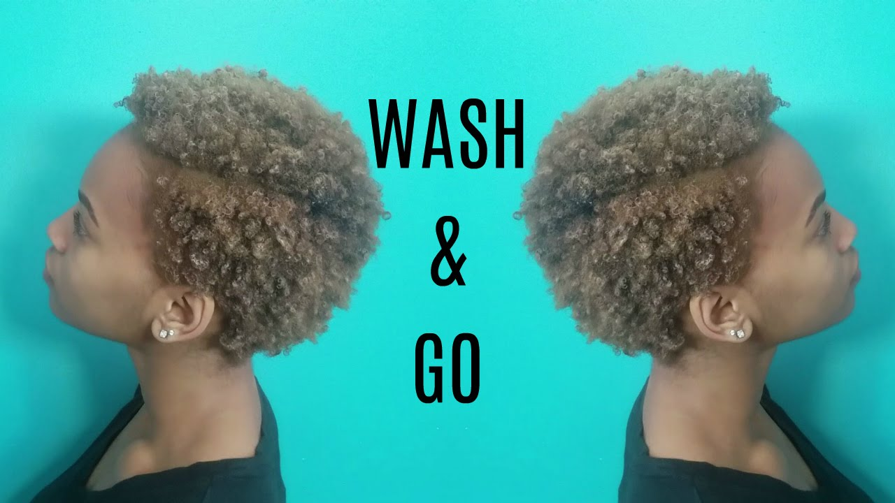 How To Wash And Go Natural Short Hair