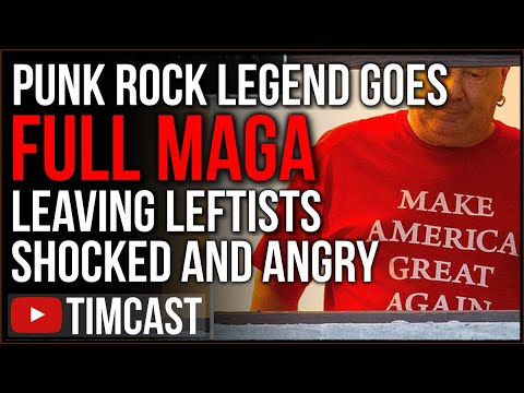 Punk Legend Goes FULL MAGA Leaving Leftists SHOCKED And Angry, Leftists DEFECT And Join Trump Train