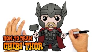 How to Draw Thor (Chibi)- Kids Art Lesson
