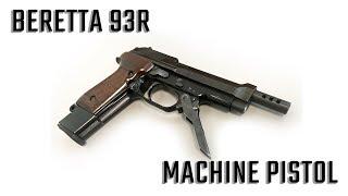 Beretta 93R 9mm Machine Pistol