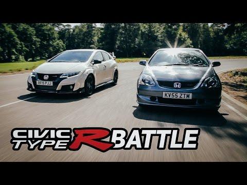 2015 Honda Civic Type R VS 2005 EP3 Type R: Track Battle