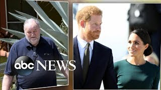 Thomas Markle says he hung up on Prince Harry in a new op-ed