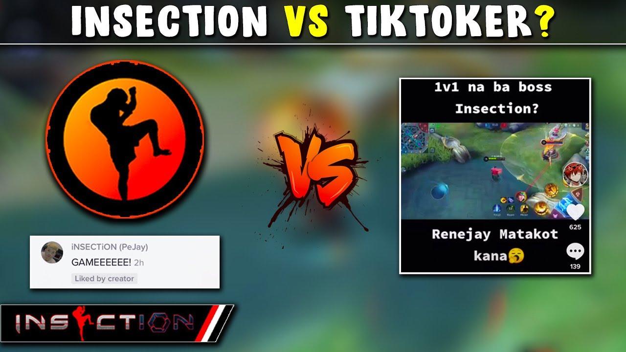 iNSECTiON VS TiKTOKER ! | CHALLENGE ME 1vs1 CHOU!
