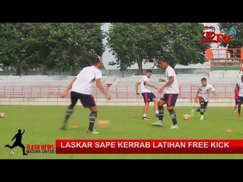 Best Free Kick Latihan Madura United