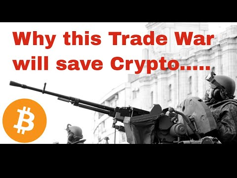 Why Trade Wars will PUSH bitcoin to 100k!