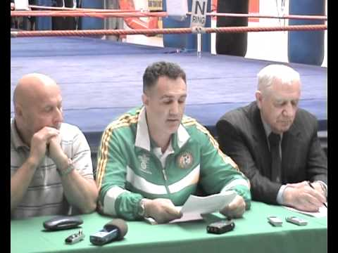 Billy Walsh, European Championships Press Conference, 2011