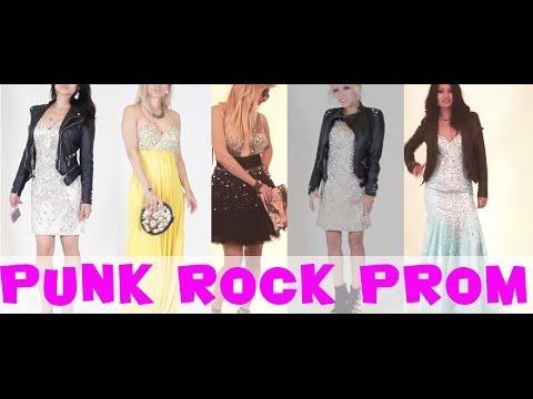 Punk Rock Prom Lookbook