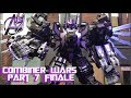 Transformers Stop Motion -[Combiner Wars ]Pt 7 Dark Predaking (SERIES FINALE)