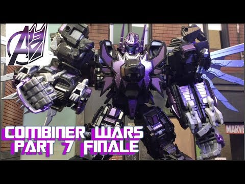 Transformers Stop Motion -[Combiner Wars ]Pt 7 Dark Predaking (SERIES FINALE)