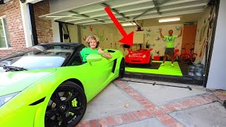 TRADING STEPHEN SHARER'S EXPENSIVE CARS FOR TINY CARS (PRANK WARS)