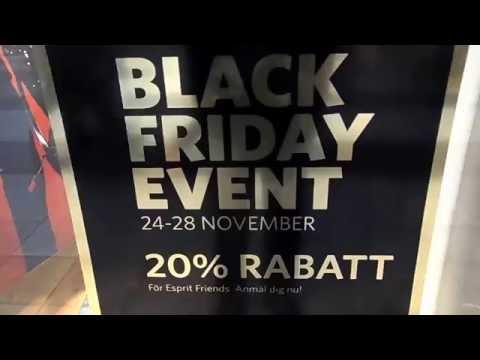 Stockholm firar idag BLACK FRIDAY