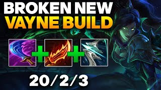 Vayne ADC Gameplay - This New Vayne Build Is Insanely Busted | League of Legends