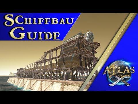 Wie baut man sein erstes RICHTIGES Schiff - Atlas Guide Tutorial deutsch german