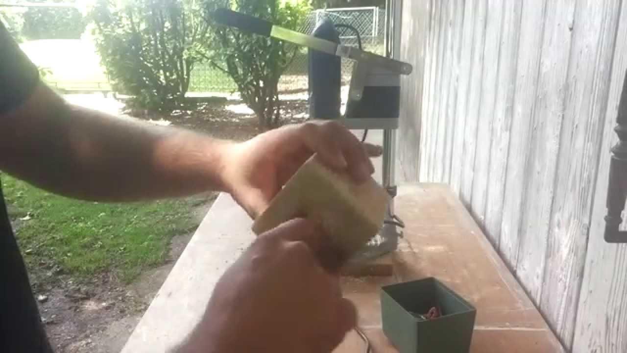 Come fare un porta candele con i pallet - versione lunga - YouTube