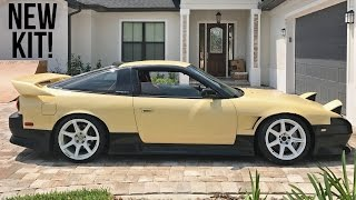 Cream S13 gets a New Body Kit!