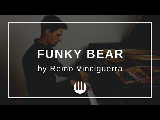 Funky Bear by Remo Vinciguerra