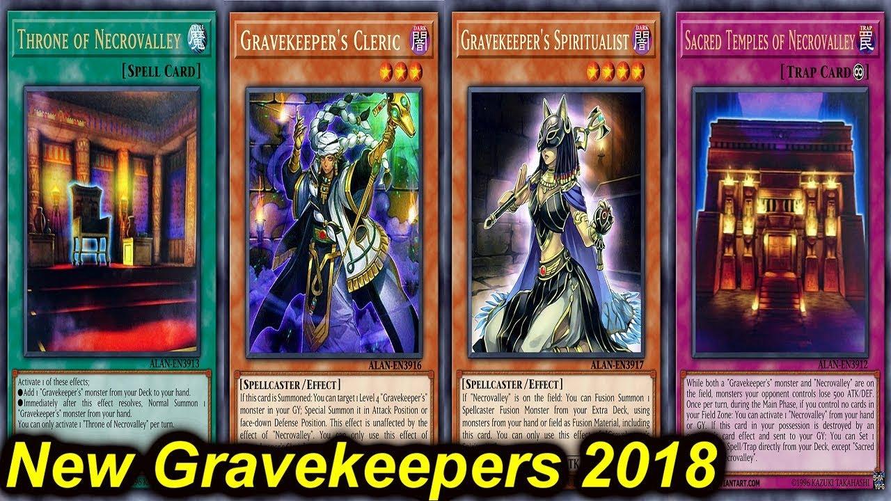 【YGOPRO】NEW GRAVEKEEPER DECK 2018 - YouTube