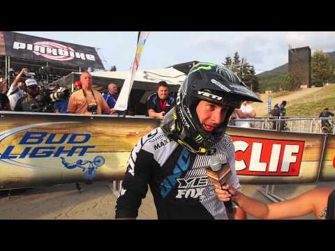 Enduro World Series Whistler - Interview with Graves and Chausson