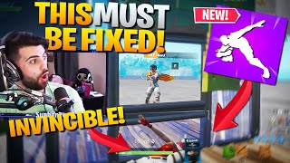 THIS EMOTE IS BROKEN!! TRICK FOR *FREE* ELIMS! (Fortnite Battle Royale)