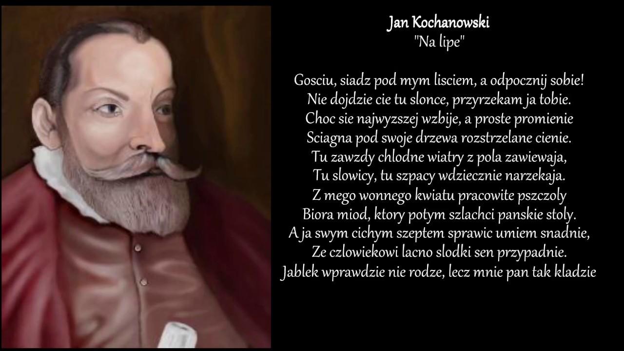 Jan Kochanowski Fraszki Na Lipe