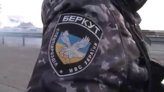«Беркут» защищает Крым от бандеровцев  Украина Россия война