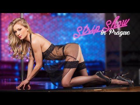 Strip show in Prague in biggest striptease bar in Prague