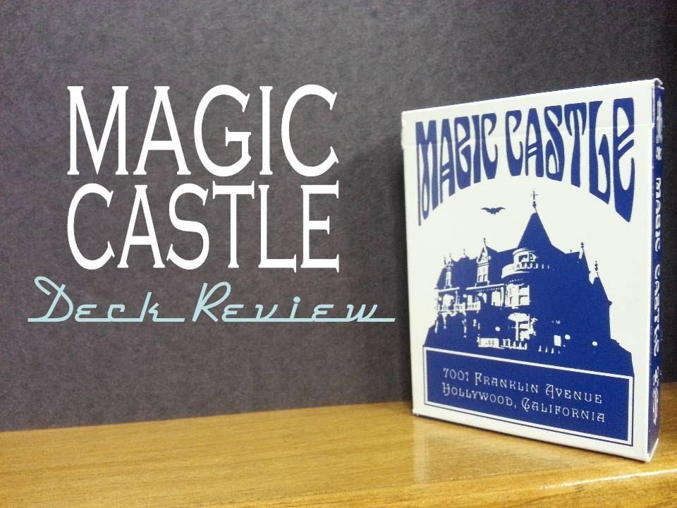 The magic castle cartamundi usa playing cards deck for Marketplace motors inc devils lake nd