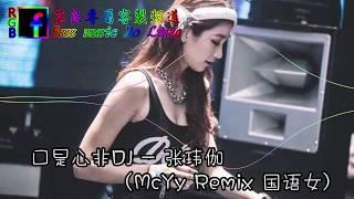 口是心非DJ   张玮伽  McYy Remix  国语女