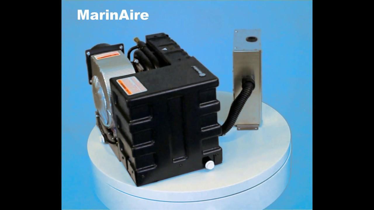 6,000 Btu/h Self Contained Marine Air conditioner and Heat pump  110-120V/60Hz