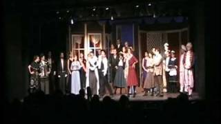 "Carter Lynch performs ""The Lambeth Walk"" in teh College Light Opera..."