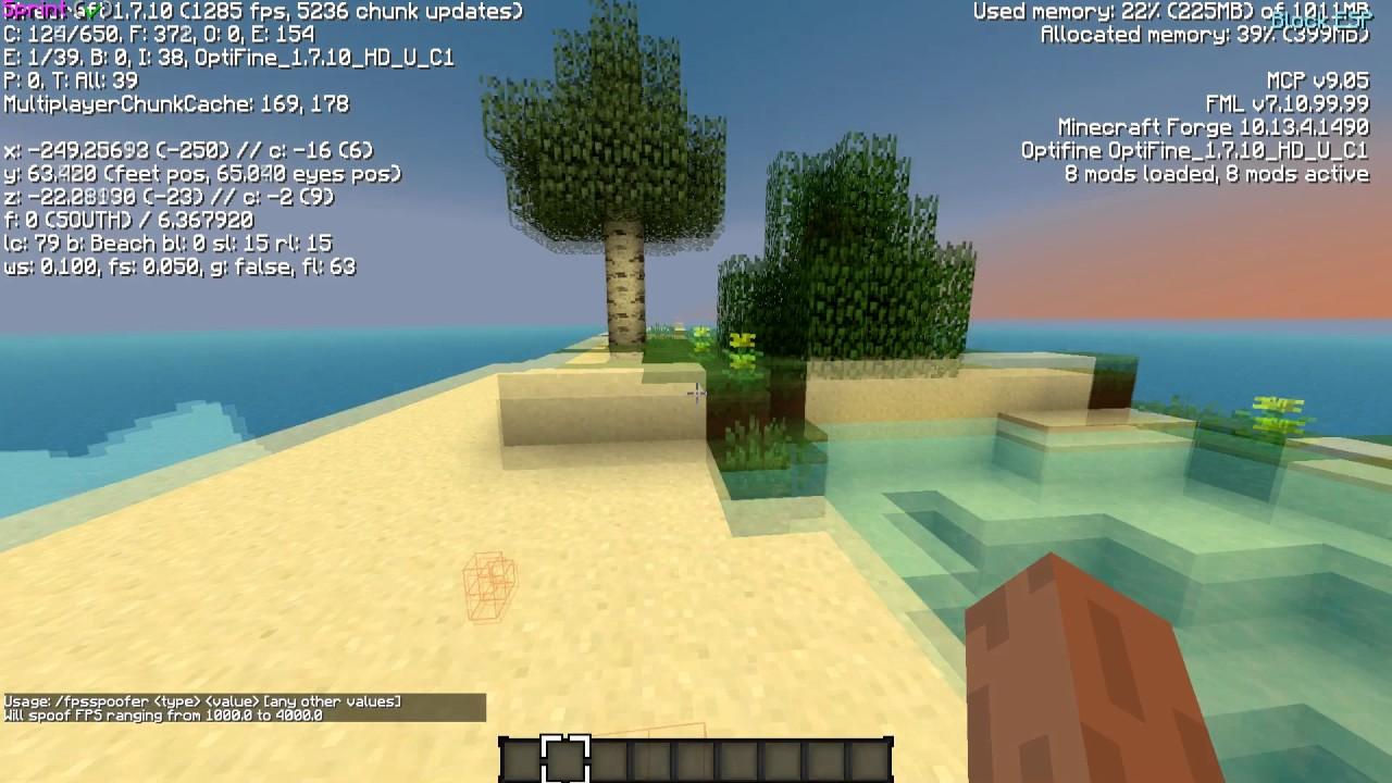 minecraft forge 1.8.9