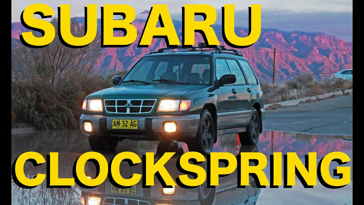 How To Replace Clockspring Subaru Forester 1998 2002 Youtube 02 Wrx Fuse Box Diagram