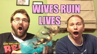 WIVES RUIN LIVES Fan Mail WWE FIGURE Unboxing SUCKAAAAA