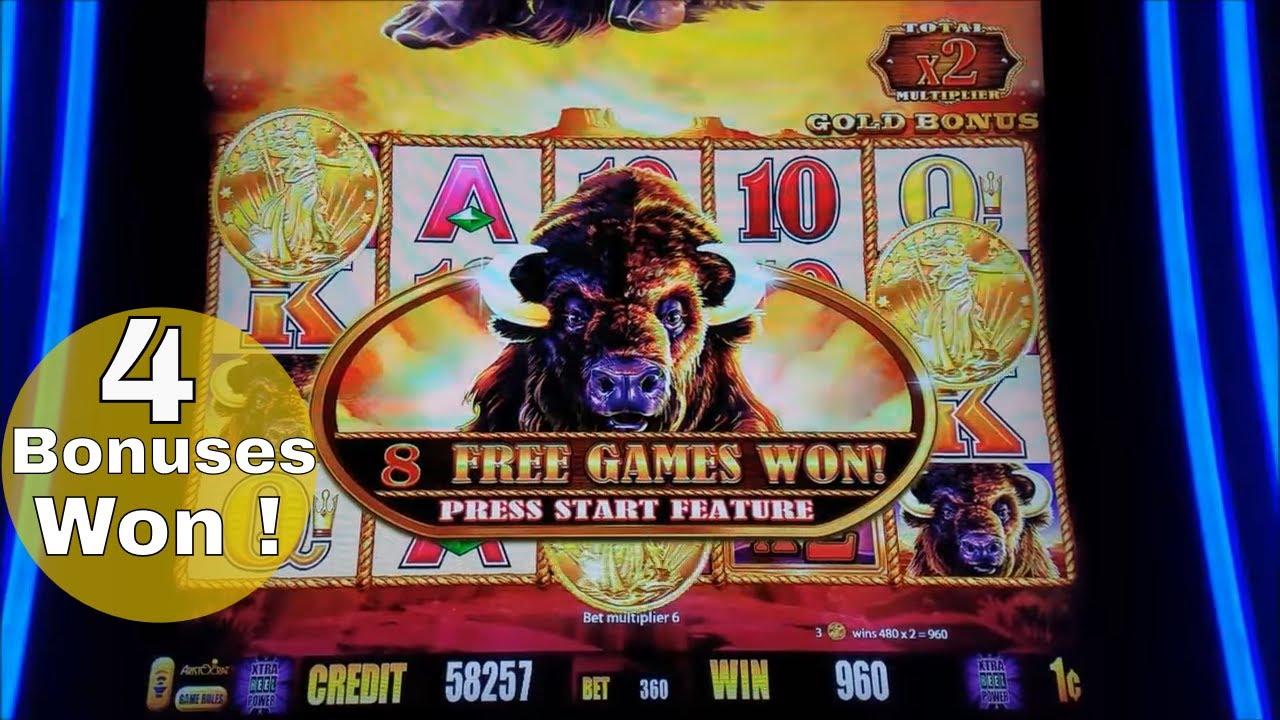 Picture Of Buffalo Slot Machine