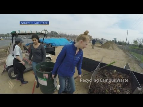 Farm To Fuel: Sacramento State Using Waste As Resource