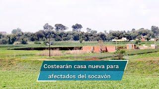 El gobernador del estado, Miguel Ángel Barbosa, informó que entre los acuerdos destaca el absorber el costo de la construcción de una nueva vivienda