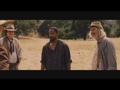 Django gets free and kills Tarantino like a boss scene - Dja