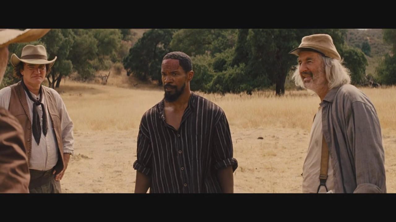 Download Django gets free and kills Tarantino like a boss scene - Django