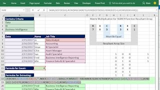 Excel Magic Trick 1382: Extract Records With Multiple Contains (Partial Text) Criteria: 4 Examples