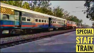Special Staff Train Skipped Shahbad Mohammad station || Delhi Rewari Section