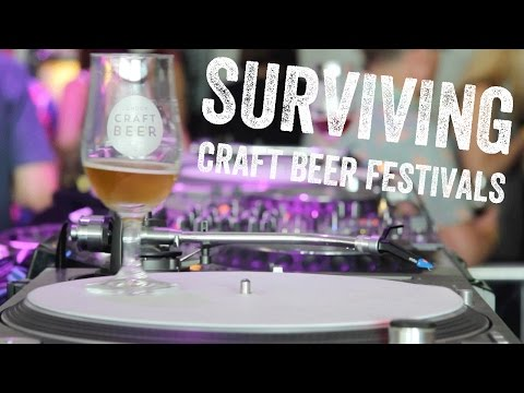 Top tips on surviving craft beer festivals | The Craft Beer Channel