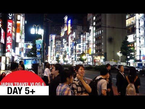 Japan Travel VLOG 6 - Day 5+  - Shinjuku