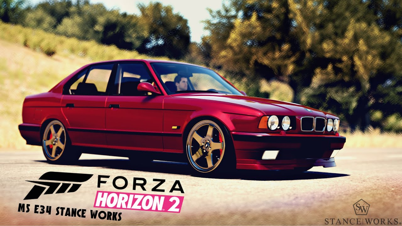 Forza Horizon 2 StanceNation | 1995 BMW M5 E34 Stance Showcase - YouTube