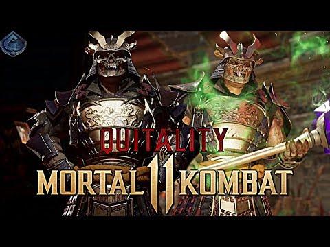 Mortal Kombat 11 Online - SHAO KAHN MAKES SOMEONE RAGE QUIT!