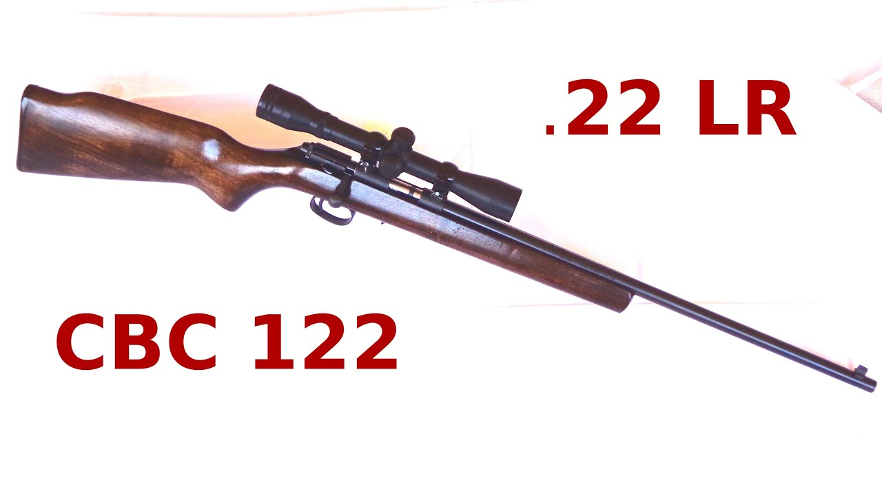 Carabina cbc 122 calibre 22 lr youtube fandeluxe Image collections