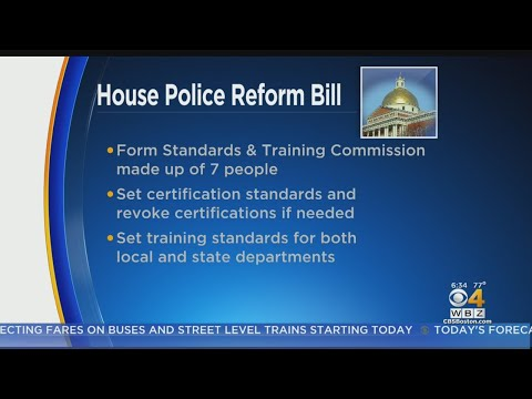 Massachusetts House Unveils Police Reform Bill