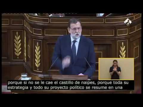 """El lapsus más absurdo de Mariano Rajoy: """"Cuanto peor mejor, peor para para el suyo para todos"""""""