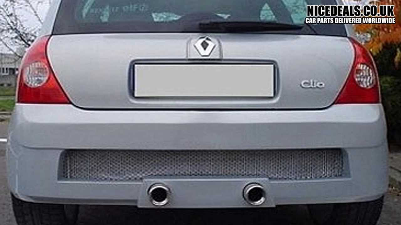 RENAULT CLIO 01 ON SPORTS REAR BUMPERS, BODY KITS