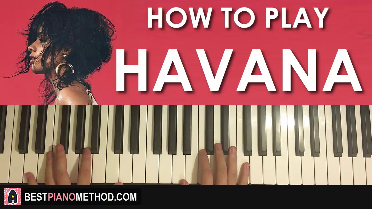 HOW TO PLAY - Camila Cabello - Havana ft  Young Thug (Piano Tutorial Lesson)